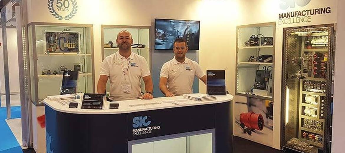 SIC ltd exhibition stand at Subcon 2017