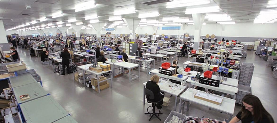 SIC production floor